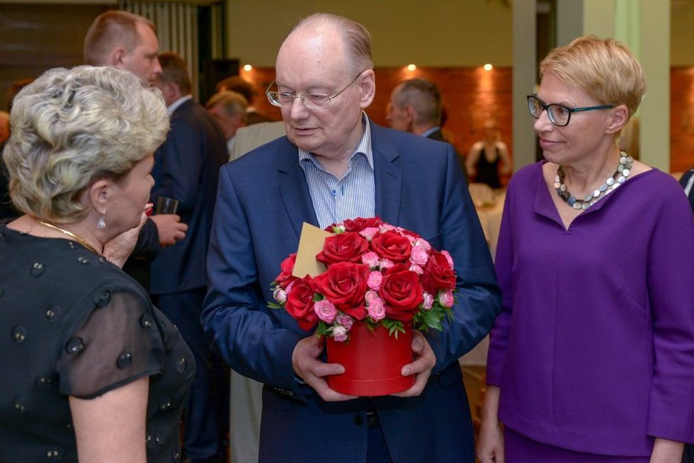 Česlovas Juršėnas atšventė 80-ąją gimtadienį (nuotr. Fotodiena.lt)