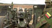 """Sausumos pajėgų prieštankinių padalinių pratybos """"Medžiotojas"""" (nuotr. Balsas.lt/Ruslano Kondratjevo)"""