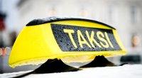Taksi (nuotr. Fotodiena.lt/Ieva Budzeikaitė)