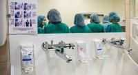 Parodė, kaip atrodo organo transplantacija (nuotr. Fotodiena/Justino Auškelio)