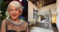 """Aktorė Helen Mirren lankėsi """"Monte Pacis"""" (nuotr. SCANPIX) tv3.lt fotomontažas"""