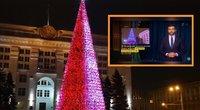 Rusijos miestas tapo pašaipų objektu: įsigijo trigubai brangesnę eglę už Maskvos (nuotr. Gamintojo)