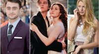 Daniel Radcliffe, Leonardo DiCaprio, Kate Winslet, Blake Lively (nuotr. SCANPIX)