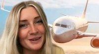 Stiuardesė išdavė auksines gudrybes lėktuve: nustebsite, nepagalvoję anksčiau (nuotr. stop kadras)