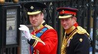 Princas Williamas ir princas Harry (nuotr. SCANPIX)