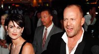 Demi Moore ir Bruce Willis (nuotr. Vida Press)