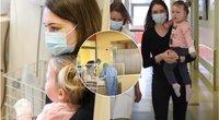 Mažosios Domantės istorija: gydytojai išpildė mergaitės svajonę vaikščioti Kauno klinikų nuotr.