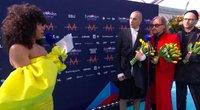 The Roop ant Eurovizijos raudonojo kilimo (nuotr. YouTube)