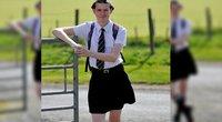 16-metis atėjo į mokyklą dėvėdamas sijoną: priežastis nustebino ne vieną   (nuotr. facebook.com)