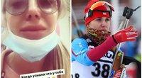 Rusijos sportininkė apsipylė ašaromis išvydusi savo atlyginimą rubliais (nuotr. Instagram) (nuotr. SCANPIX) tv3.lt fotomontažas
