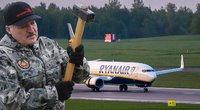 Minskas skelbiasi išgelbėjęs Europą: po lėktuvo užgrobimo Lukašenka pasiskelbė save herojumi (nuotr. SCANPIX) tv3.lt fotomontažas