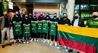 Lietuvos trijulių krepšinio rinktinė  (nuotr. Organizatorių)