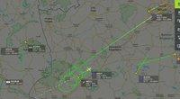 """Pajuto ribojimų galią: Lenkijos pasienyje ratus suka į Ispaniją skridęs """"Belavia"""" lėktuvas (nuotr. Gamintojo)"""