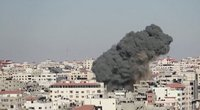 """Izraelio premjeras: priversime """"Hamas"""" sumokėti už jų netoleruotina agresiją (nuotr. stop kadras)"""