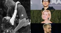 Žinomi žmonės reaguoja į Kobe Bryanto ir jo dukters netektį (tv3.lt fotomontažas)