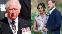 Princas Čarlzas, Meghan Markle ir princas Harry (nuotr. SCANPIX)