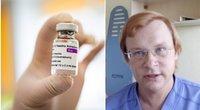 """Imunologas pasakė, kiek populiacijos pakaktų įskiepyti infekcijos plitimui sumažinti ir nėščiosioms tinka """"AstraZeneca"""" vakcina (tv3.lt fotomontažas)"""