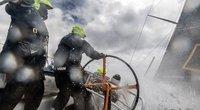 """""""Ambersail-2"""" įgula startuoja antrajame """"The Ocean Race Europe"""" (nuotr. Aistė Ridikaitė)"""