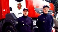 Ugniagesys gelbėtojas Algimantas Krisiukėnas džiaugiasi galėdamas padėti žmonėms