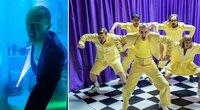 """Vyras nufilmavo, kaip ruošiasi """"Eurovizijoje"""" palaikyti """"The Roop"""": diskoteka – tualete (tv3.lt koliažas)"""