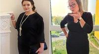 Pakeitus mitybą – 14 dydžių mažesni drabužiai