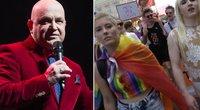 Orlauskas: gėjai ir lesbietės nėra tas pats, kas LGBT bendruomenė, kuri provokuoja visuomenę (tv3.lt koliažas)