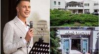 """Naujasis legendinės vilos """"Auska"""" nuomininkas – 21-erių šefas Rokas Galvonas (tv3.lt fotomontažas)"""