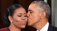 Michelle Obama ir Barack Obama (nuotr. SCANPIX)