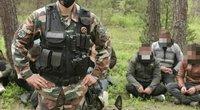 Iš Baltarusijos plūsta neteisėti migrantai – VSAT pareigūnai sulaikė 52 asmenis