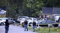 Misisipės valstijoje lėktuvui įsirėžus į namą žuvo keturi žmonės (nuotr. SCANPIX)