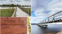 Ant Lietuvos ežero – ilgiausias pėsčiųjų tiltas šalyje: vaizdai čia atima žadą (Nuotr. Pamatyk Lietuvoje)