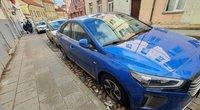Vilniuje siautėjo automobilių niokotojas (nuotr. Broniaus Jablonsko)