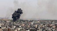 Tel Avive įjungtos perspėjimo apie oro pavojų sirenos, iš Gazos Ruožo vėl lekia raketos (nuotr. SCANPIX)