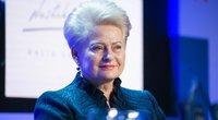 Dalia Grybauskaitė Knygų mugėje (nuotr. Fotodiena/Justino Auškelio)