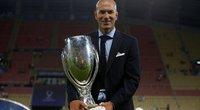 Z. Zidane'as paaiškino, kodėl paliko Madrido ekipą (nuotr. SCANPIX)