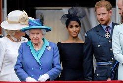 Karalienės kantrybė trūko: Markle ir princo Hario laukia neramumai