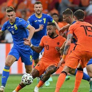"""""""Euro 2020"""": fantastiškas trileris su penkiais įvarčiais baigėsi Nyderlandų pergale"""