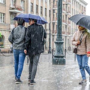 Lietus nuplaus Lietuvą, tačiau pirmadienį – pokyčiai
