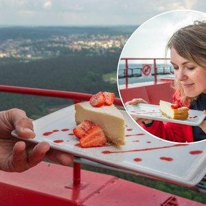 Tokio restorano niekur kitur nerasite: vakarienės 180 metrų aukštyje nepamiršite ilgai