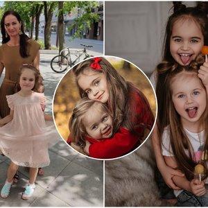 Vilniečių dukrų išskirtinumas keri iki širdies gelmių: fotoaparato blykstės – kasdienybė