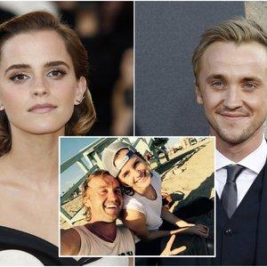 """""""Hario Poterio"""" gerbėjai nerimsta – netyla kalbos apie Watson ir Feltono santykius: aktorius pasakė, kaip yra iš tiesų"""
