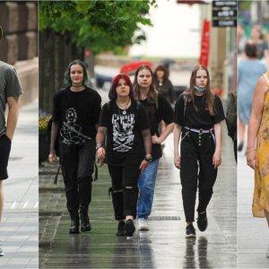 Gatvės mados: pamatykite stilingus vilniečių bei miesto svečių drabužių derinius