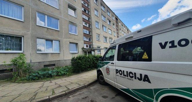 Nužudymas Vilniuje: bute rastas nudurtas vyras, sulaikyti trys asmenys