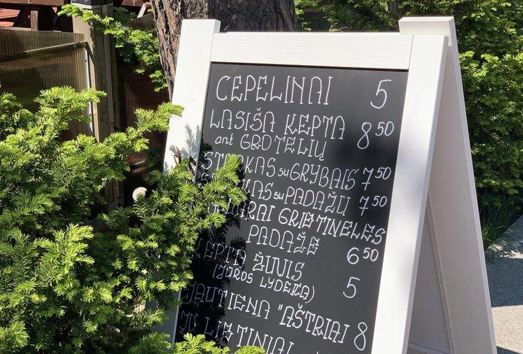 Maisto kainos Palangoje (nuotr. tv3.lt)