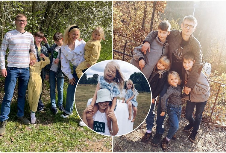Vilniečių šeima dviguba laimė aplankė dukart (tv3.lt fotomontažas)