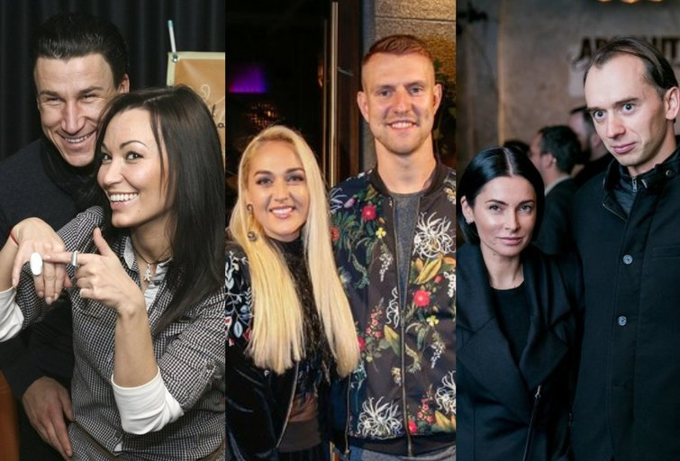 Saulius Skambinas ir Karina Krysko, Mantas ir Indrė Stonkai, Agnė Jagelavičiūtė ir Mantas Volkus
