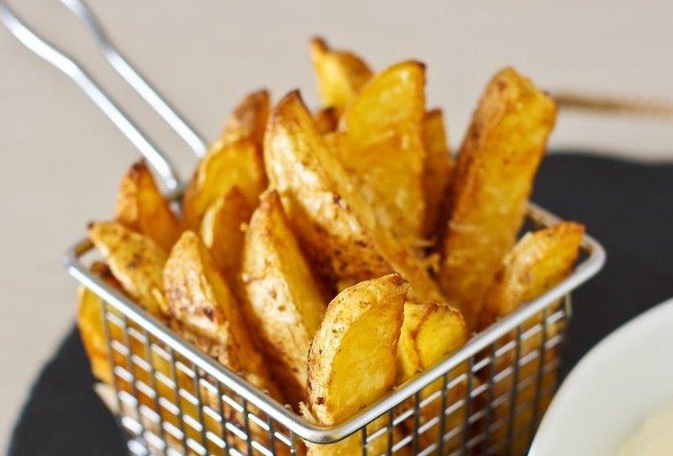 Bulvių skiltelės (Nuotr. Oditėlės blogas)