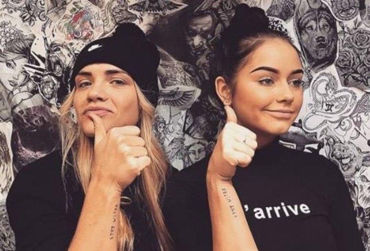 Marija Grabštaitė ir Iglė Bernotaitytė (nuotr. Instagram)