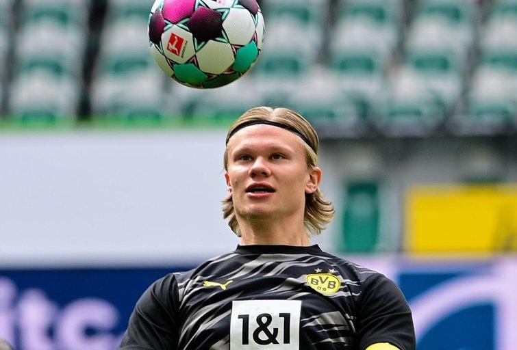 """Niekas neįpirks – """"Borussia"""" nustatė milžinišką išpirką už Haalandą (nuotr. SCANPIX)"""