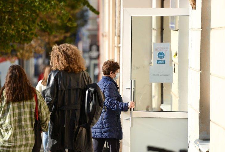 Žmonės Vilniuje (nuotr. Fotodiena/Justino Auškelio)